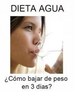 Dietas Efectivas Para Bajar De Peso Rápido Con Agua